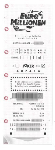 Eurojackpot draw