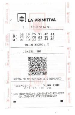 κερδίστε το La Primitiva