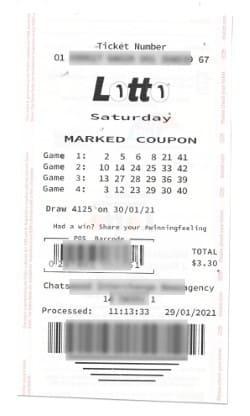 Buy tickets Saturday Lotto